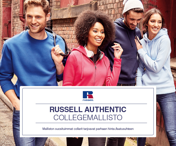 Russell Authentic Collegemallisto
